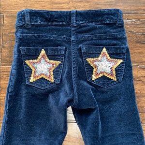 Mini Boden Toddler Velvet Pants